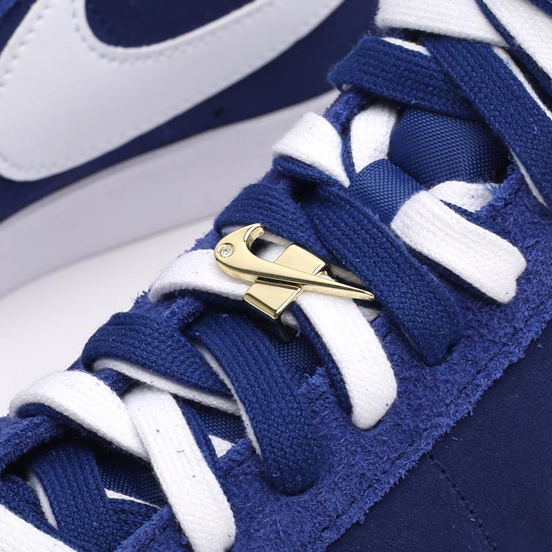 мужские синие  кроссовки nike blazer mid '77 DC3433-400 - цена, описание, фото 7