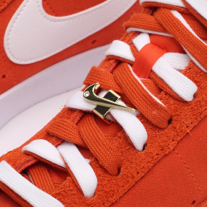 мужские оранжевые  кроссовки nike blazer mid '77 DC3433-800 - цена, описание, фото 7