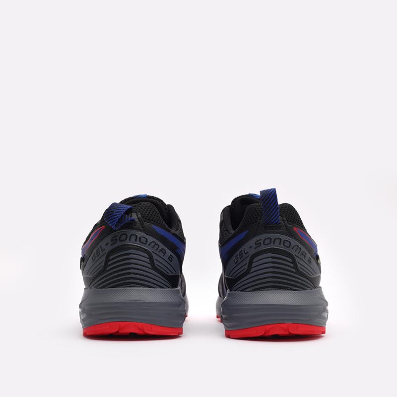 мужские чёрные  кроссовки asics gel-sonoma 6 g-tx 1011B048-010 - цена, описание, фото 3