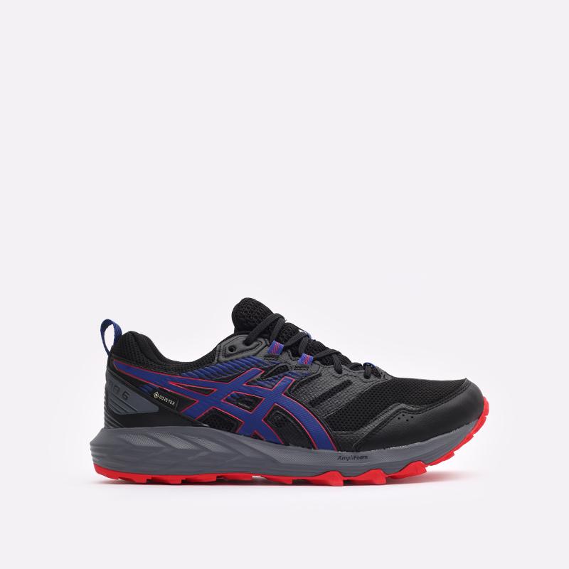 мужские чёрные  кроссовки asics gel-sonoma 6 g-tx 1011B048-010 - цена, описание, фото 1