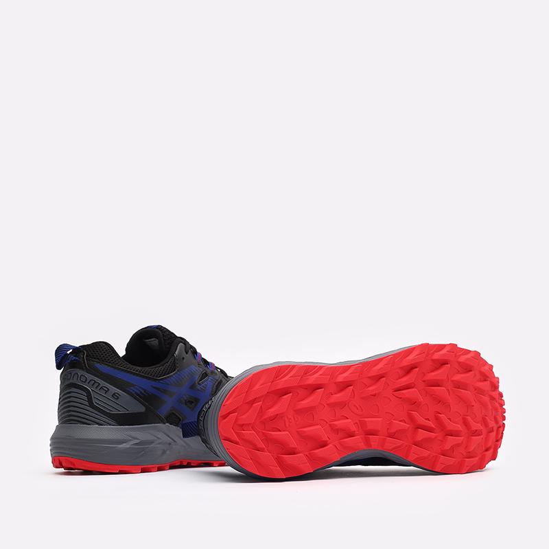мужские чёрные  кроссовки asics gel-sonoma 6 g-tx 1011B048-010 - цена, описание, фото 6