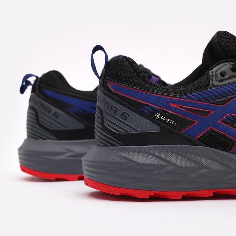 мужские чёрные  кроссовки asics gel-sonoma 6 g-tx 1011B048-010 - цена, описание, фото 7