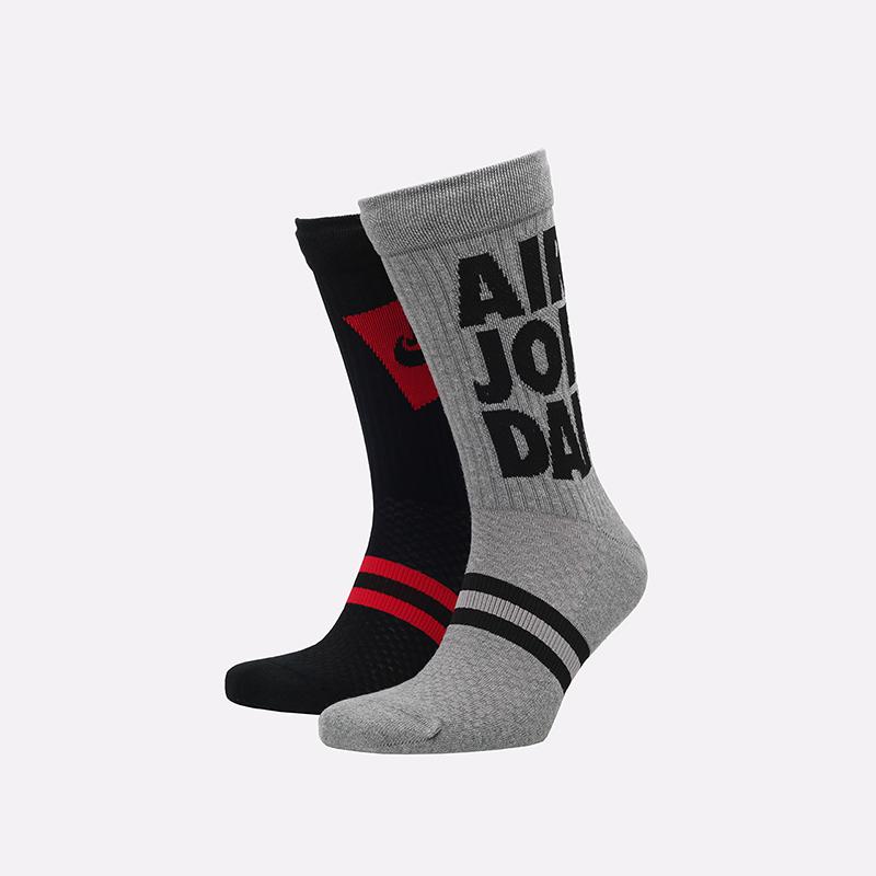 мужские красные носки Jordan Legacy Crew CU7907-903 - цена, описание, фото 1