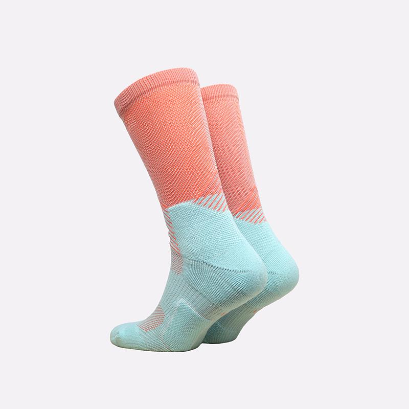 мужские розовые, голубые  носки nike elite crew DD0492-801 - цена, описание, фото 2