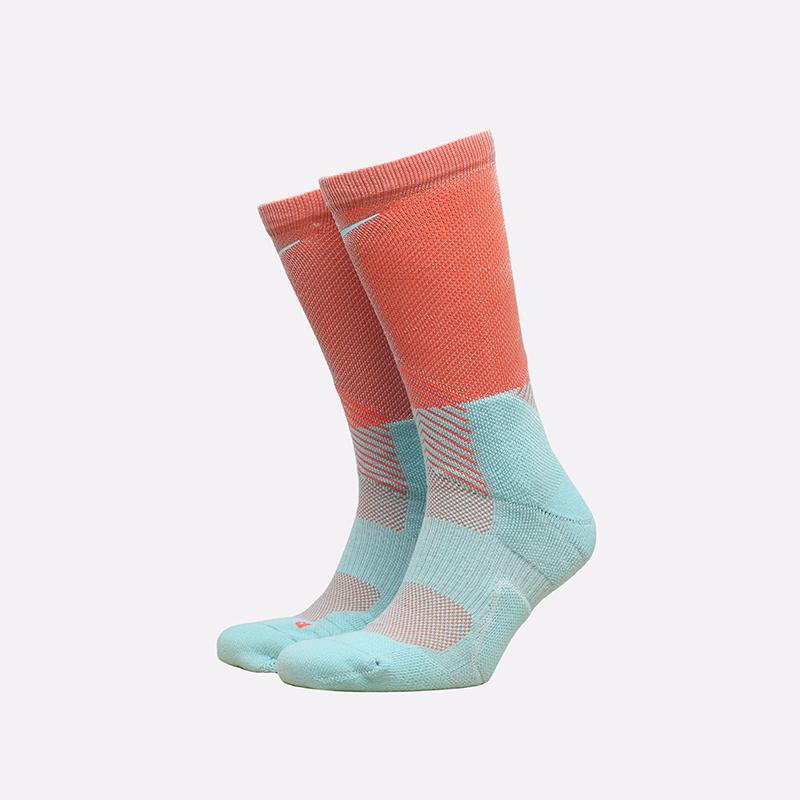 мужские розовые, голубые  носки nike elite crew DD0492-801 - цена, описание, фото 1