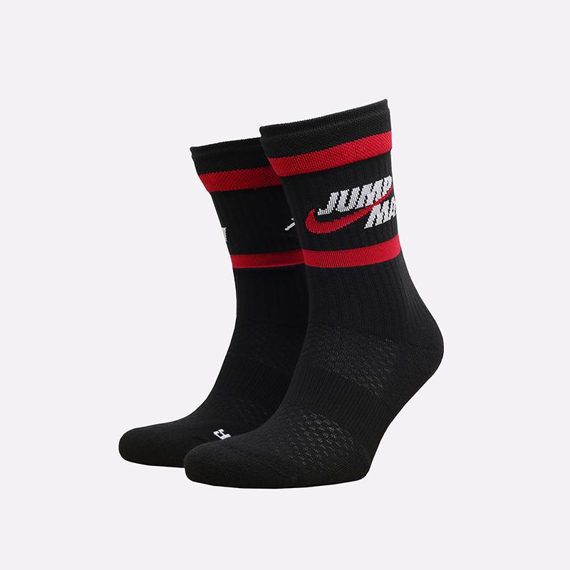 мужские черные носки Jordan Legacy Crew DA2560-010 - цена, описание, фото 1
