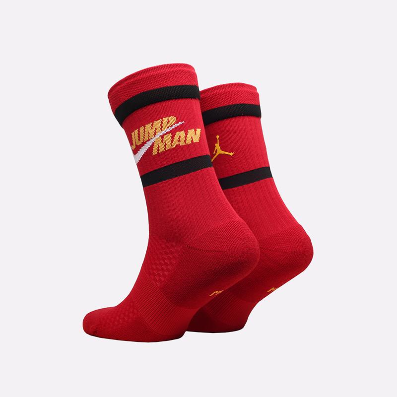 мужские красные носки Jordan Legacy Crew DA2560-687 - цена, описание, фото 2