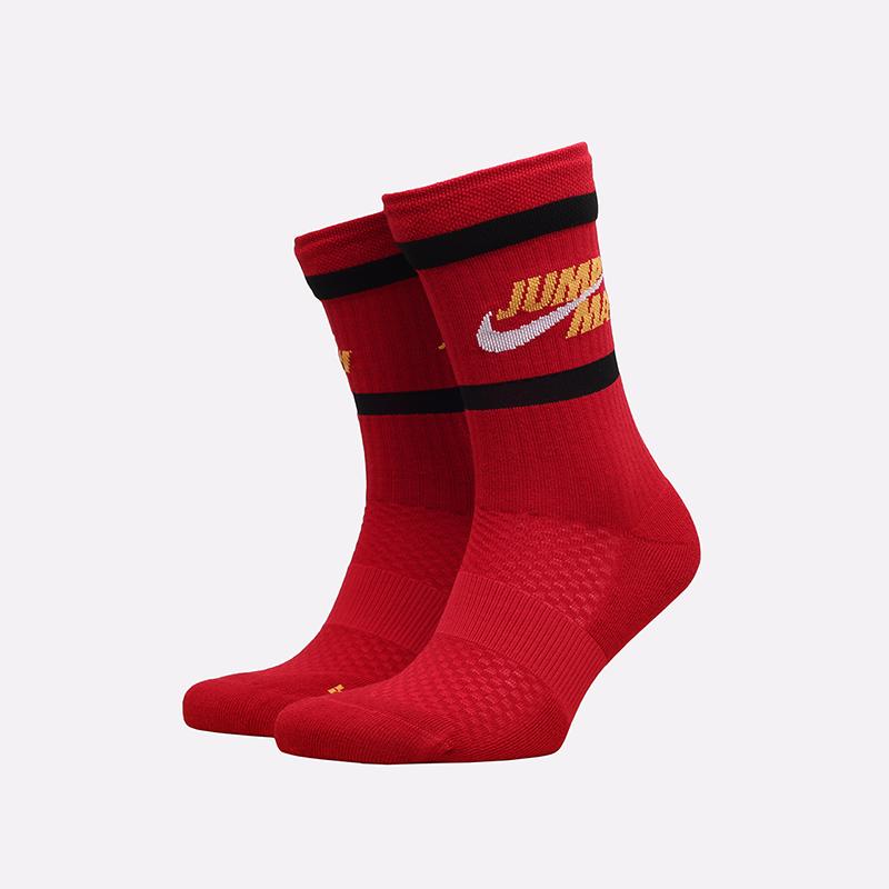 мужские красные носки Jordan Legacy Crew DA2560-687 - цена, описание, фото 1