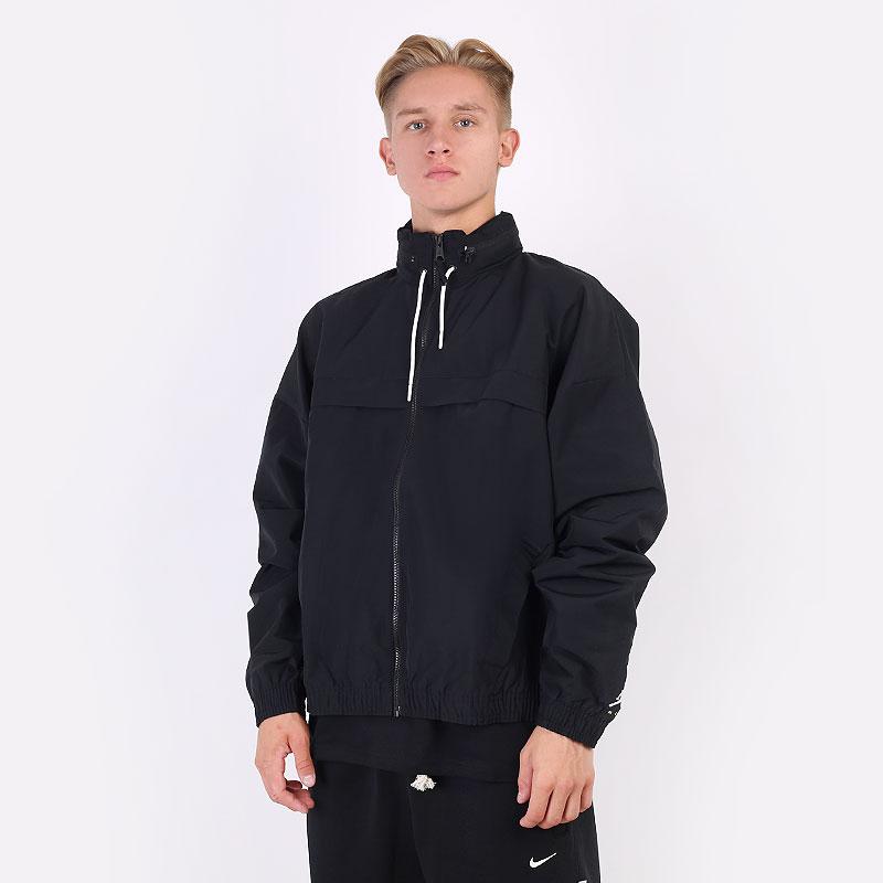 мужскую черную  куртку jordan jumpman windbreaker DA7172-010 - цена, описание, фото 1