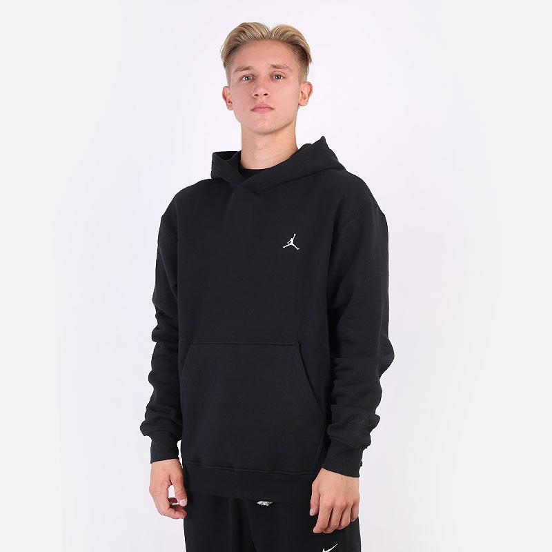 мужская черная толстовка Jordan Essentials Fleece Pullover Hoodie DA9818-010 - цена, описание, фото 1