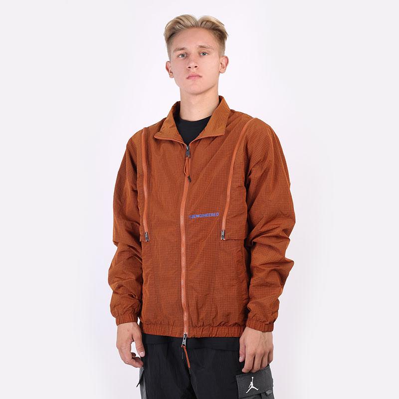мужскую оранжевую  куртку jordan 23 engineered woven jacket DH3288-220 - цена, описание, фото 1