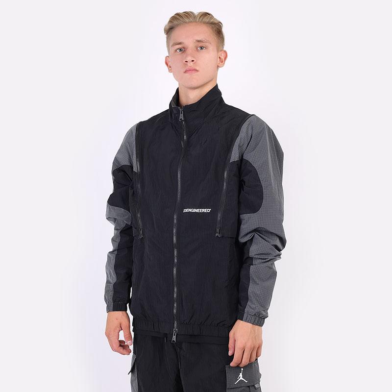 мужская черная куртка Jordan 23 Engineered Woven Jacket DH3288-010 - цена, описание, фото 1