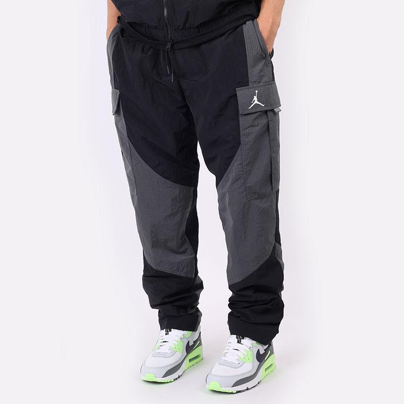 мужские черные брюки Jordan 23 Engineered Woven Pants DH3290-010 - цена, описание, фото 1