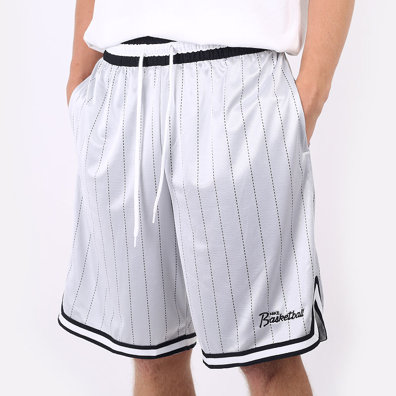 мужские серые  шорты  nike dri-fit dna basketball shorts DA5709-100 - цена, описание, фото 1