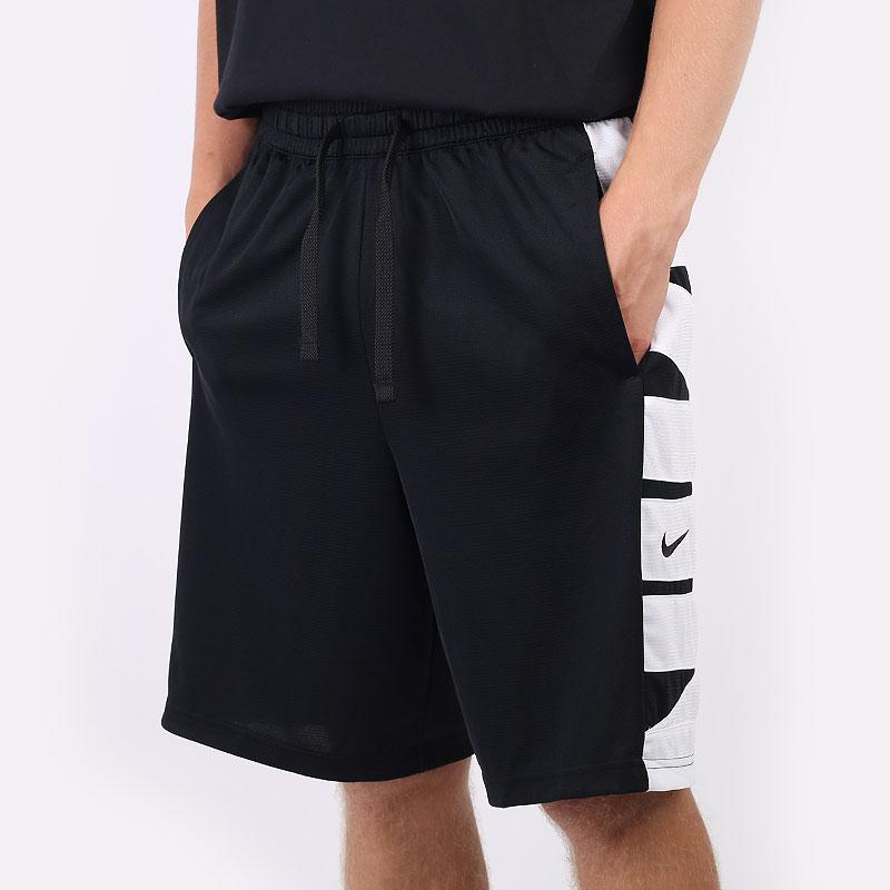 мужские черные  шорты  nike dri-fit basketball shorts CV1866-011 - цена, описание, фото 1