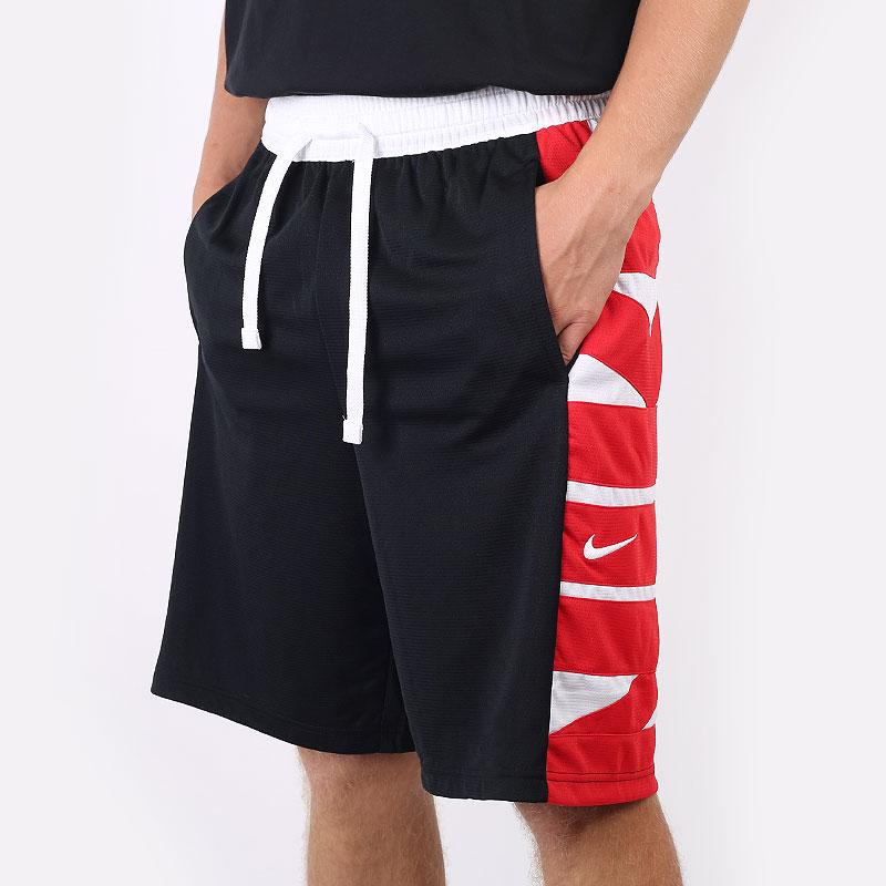 мужские черные  шорты  jordan dri-fit basketball shorts CV1866-010 - цена, описание, фото 1
