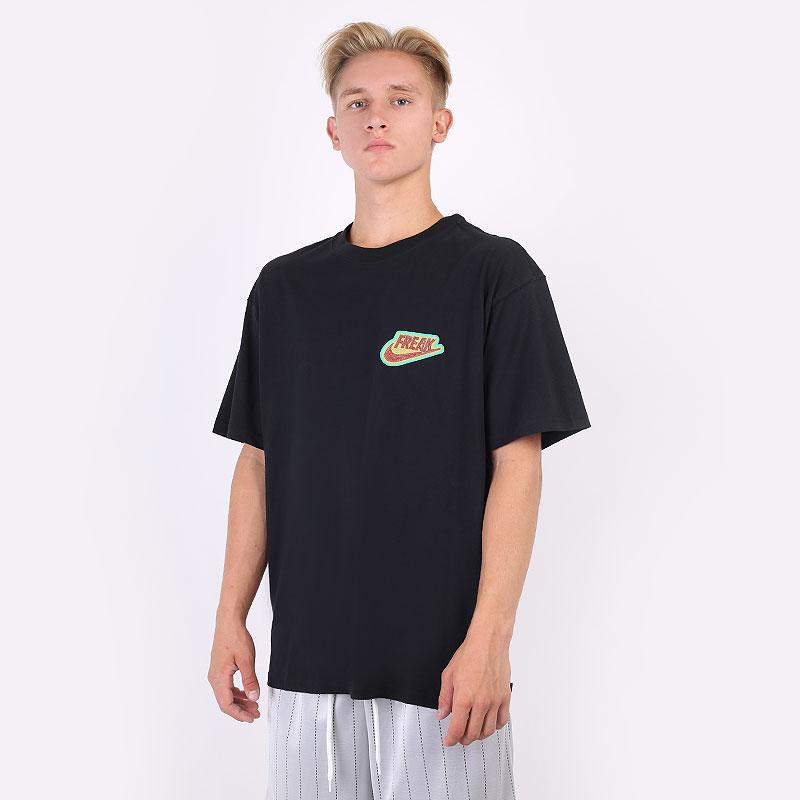 мужская черная футболка Nike Giannis `Freak` Premium Basketball T-Shirt DJ1562-010 - цена, описание, фото 1