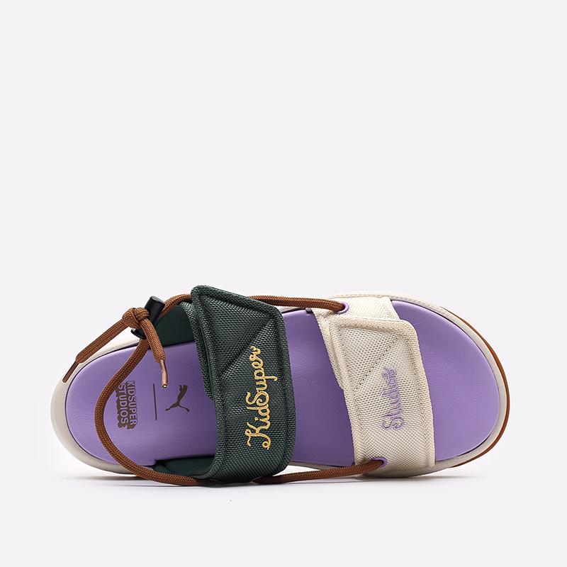разноцветные  сандалии puma rs-sandal x kidsuper 38055601 - цена, описание, фото 5
