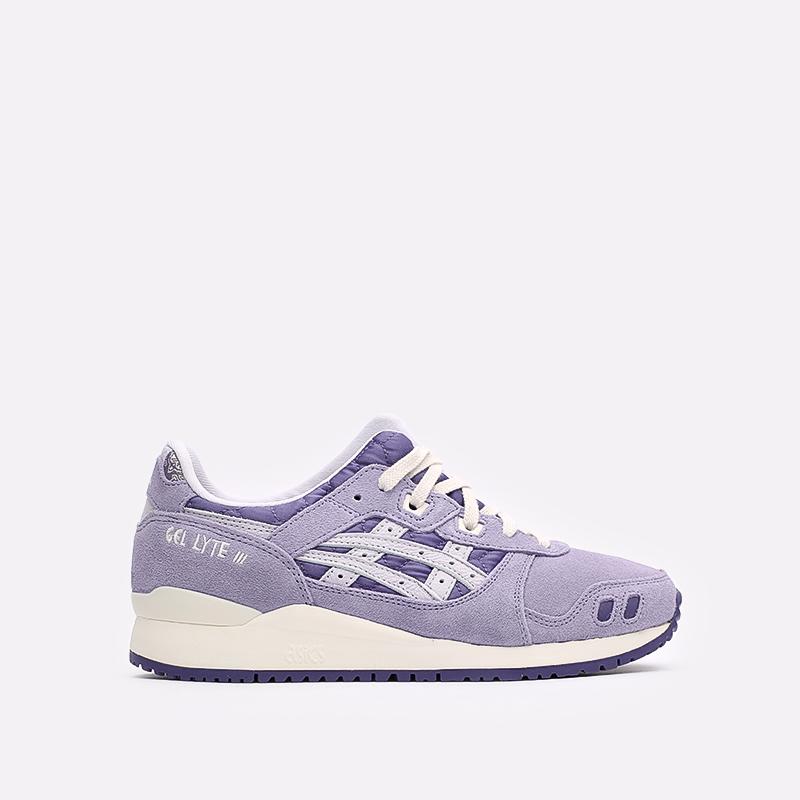 фиолетовые  кроссовки asics gel-lyte iii og 1201A318-500 - цена, описание, фото 1