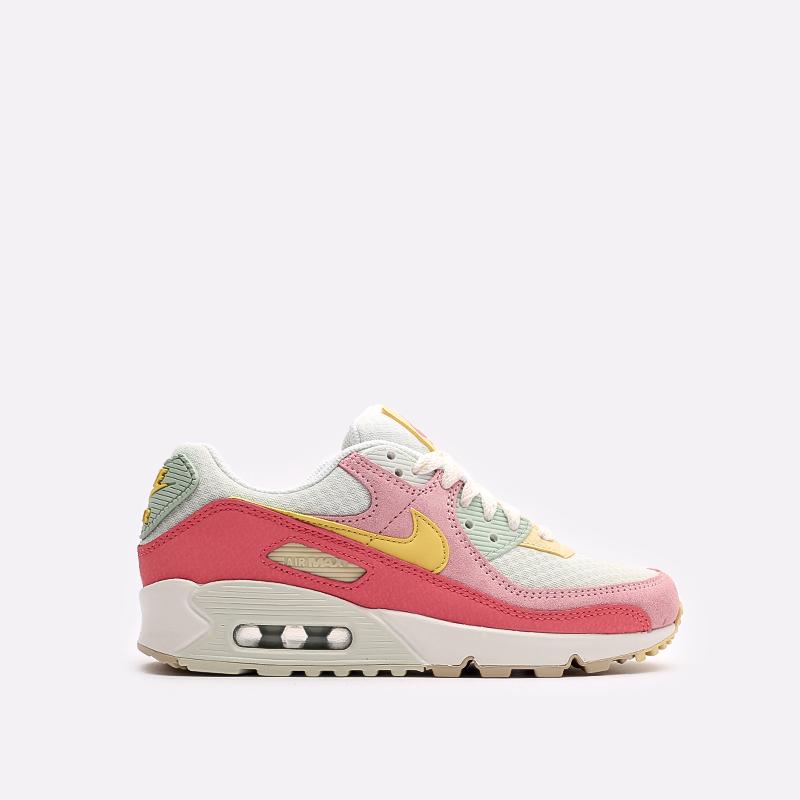 женские разноцветные  кроссовки nike wmns air max 90 DM9465-001 - цена, описание, фото 1