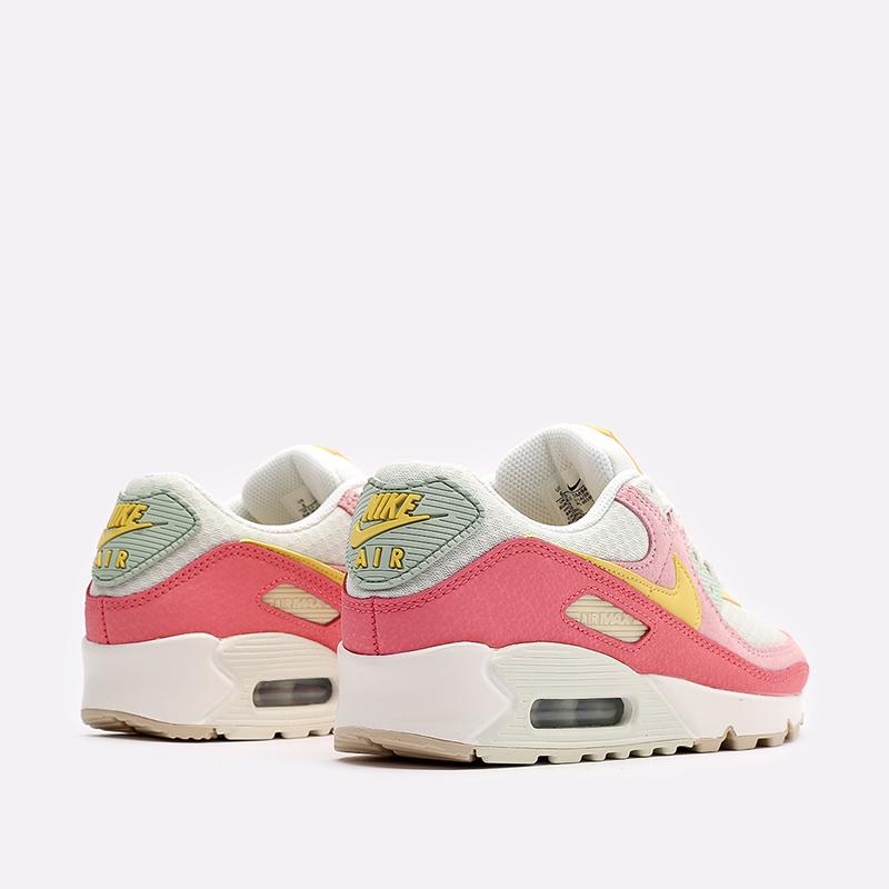 женские разноцветные  кроссовки nike wmns air max 90 DM9465-001 - цена, описание, фото 3