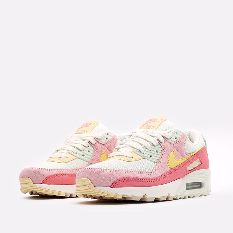 женские разноцветные  кроссовки nike wmns air max 90 DM9465-001 - цена, описание, фото 4