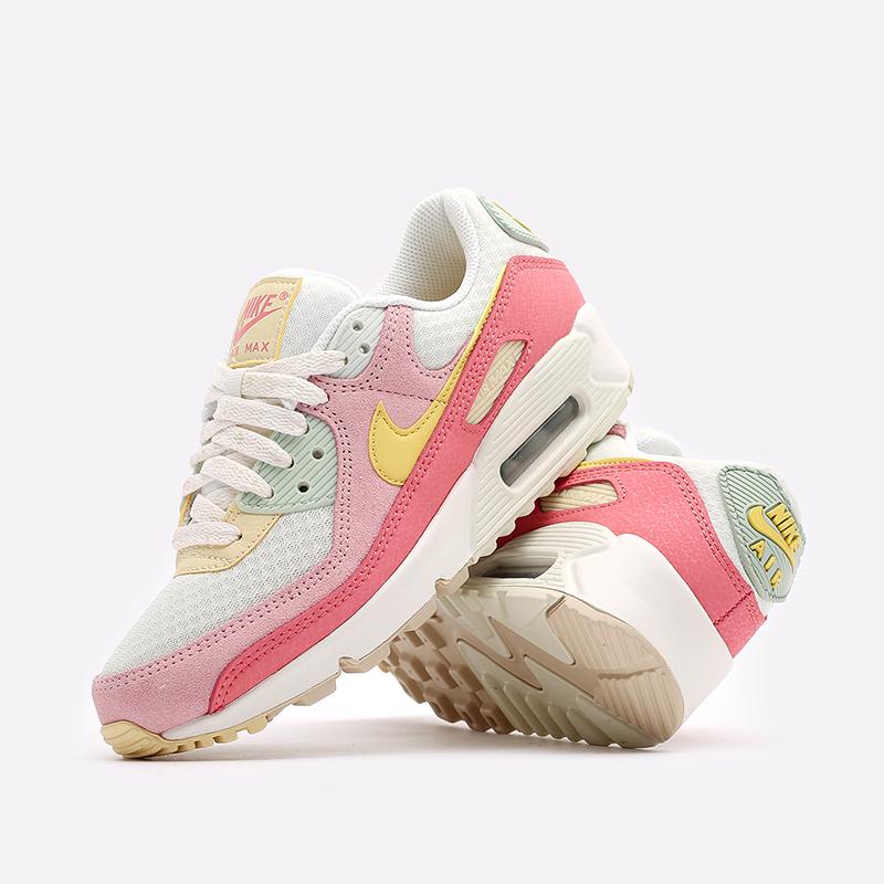 женские разноцветные  кроссовки nike wmns air max 90 DM9465-001 - цена, описание, фото 2