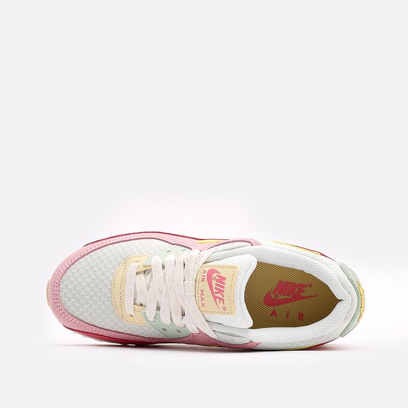 женские разноцветные  кроссовки nike wmns air max 90 DM9465-001 - цена, описание, фото 6