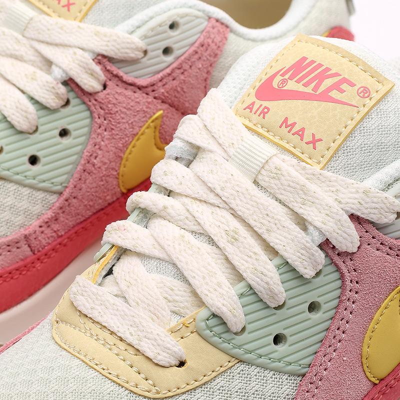 женские разноцветные  кроссовки nike wmns air max 90 DM9465-001 - цена, описание, фото 7
