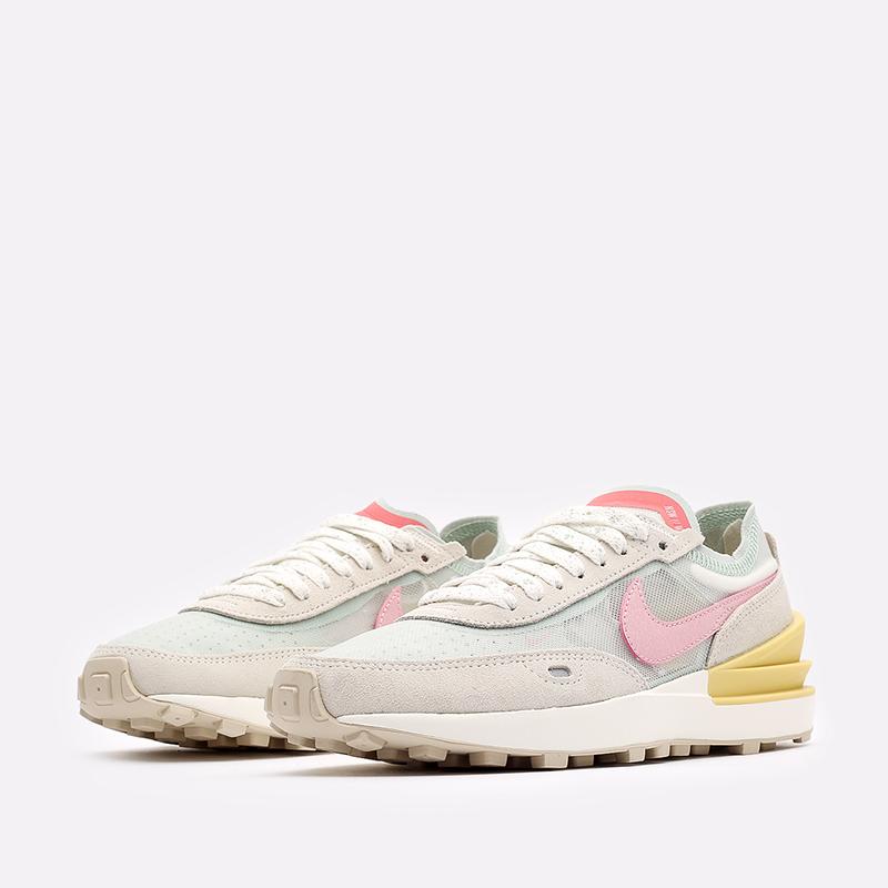 женские разноцветные кроссовки Nike WMNS Waffle One DM9466-001 - цена, описание, фото 4