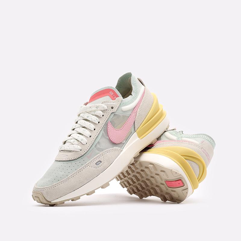 женские разноцветные кроссовки Nike WMNS Waffle One DM9466-001 - цена, описание, фото 2