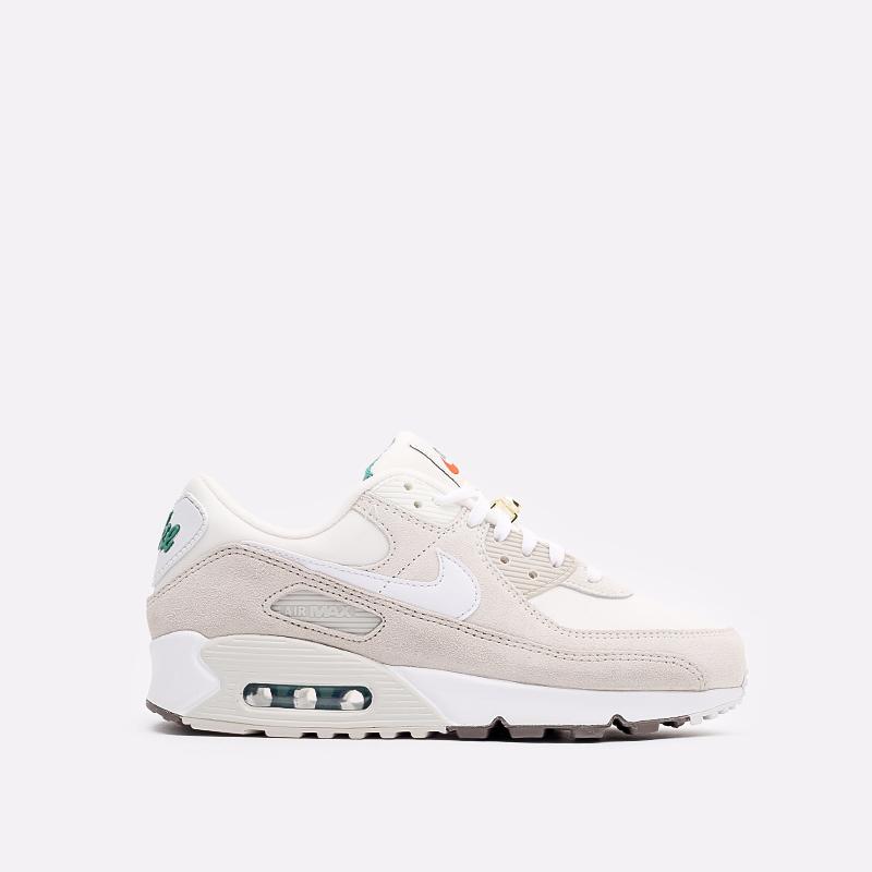 мужские бежевые кроссовки Nike Air Max 90 SE DB0636-100 - цена, описание, фото 1