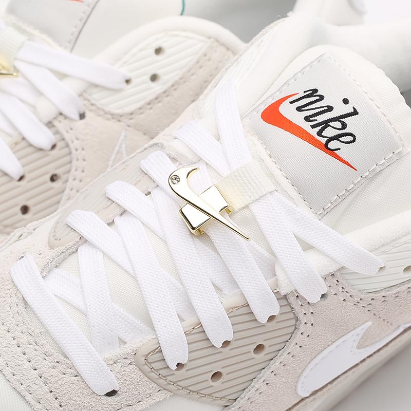 мужские бежевые кроссовки Nike Air Max 90 SE DB0636-100 - цена, описание, фото 7