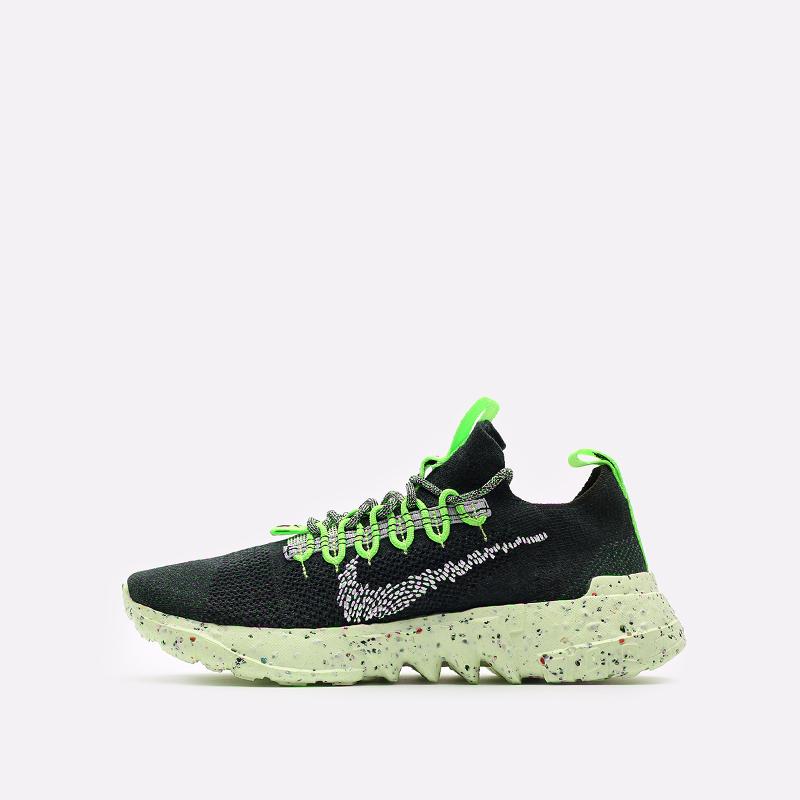 мужские зелёные  кроссовки nike space hippie 01 DJ3056-300 - цена, описание, фото 2