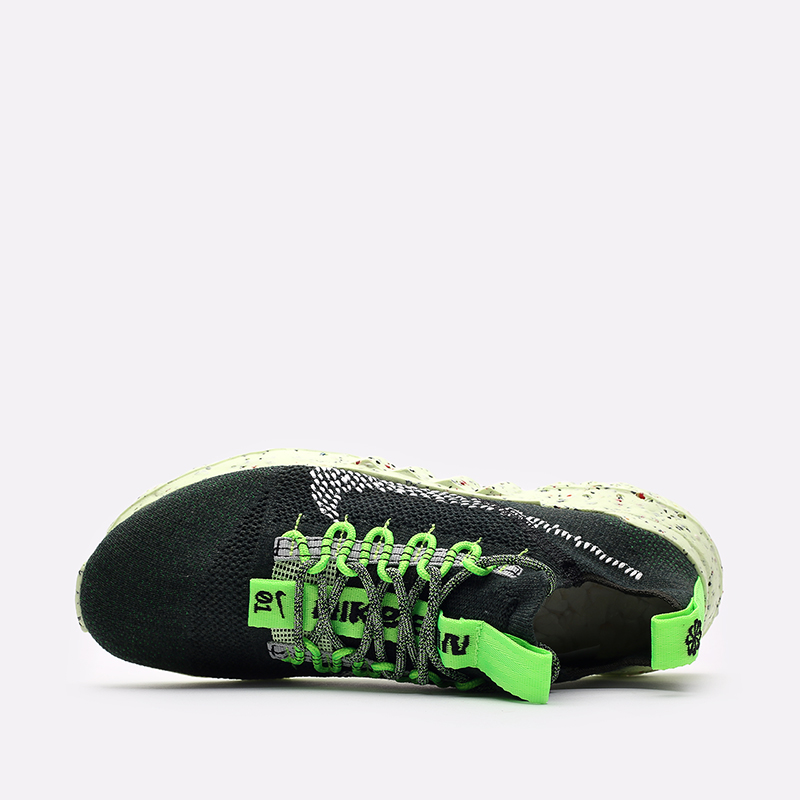 мужские зелёные  кроссовки nike space hippie 01 DJ3056-300 - цена, описание, фото 6