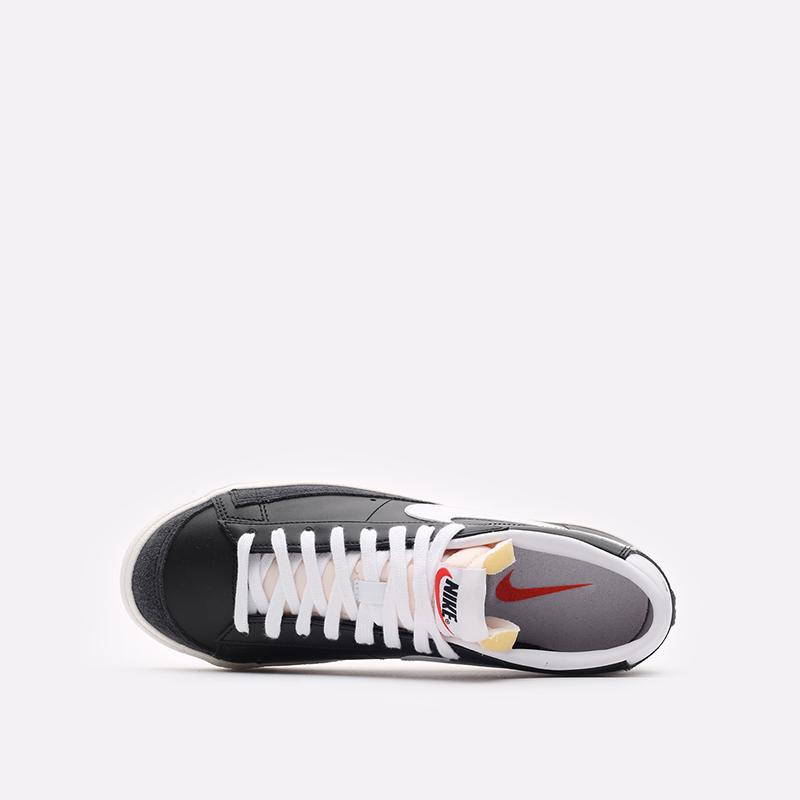 мужские черные кроссовки Nike Blazer Low '77 VNTG DA6364-001 - цена, описание, фото 6