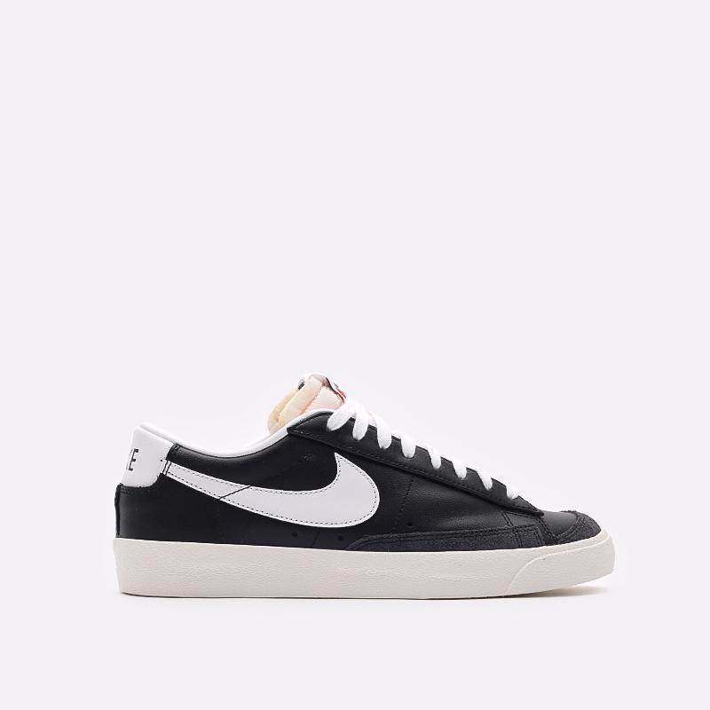 мужские черные кроссовки Nike Blazer Low '77 VNTG DA6364-001 - цена, описание, фото 1