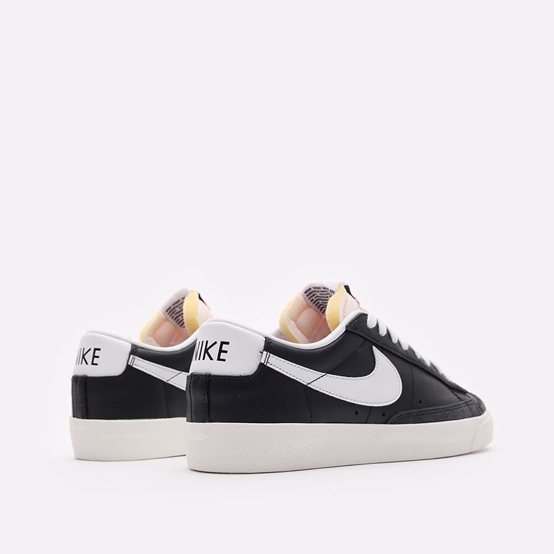 мужские черные кроссовки Nike Blazer Low '77 VNTG DA6364-001 - цена, описание, фото 3