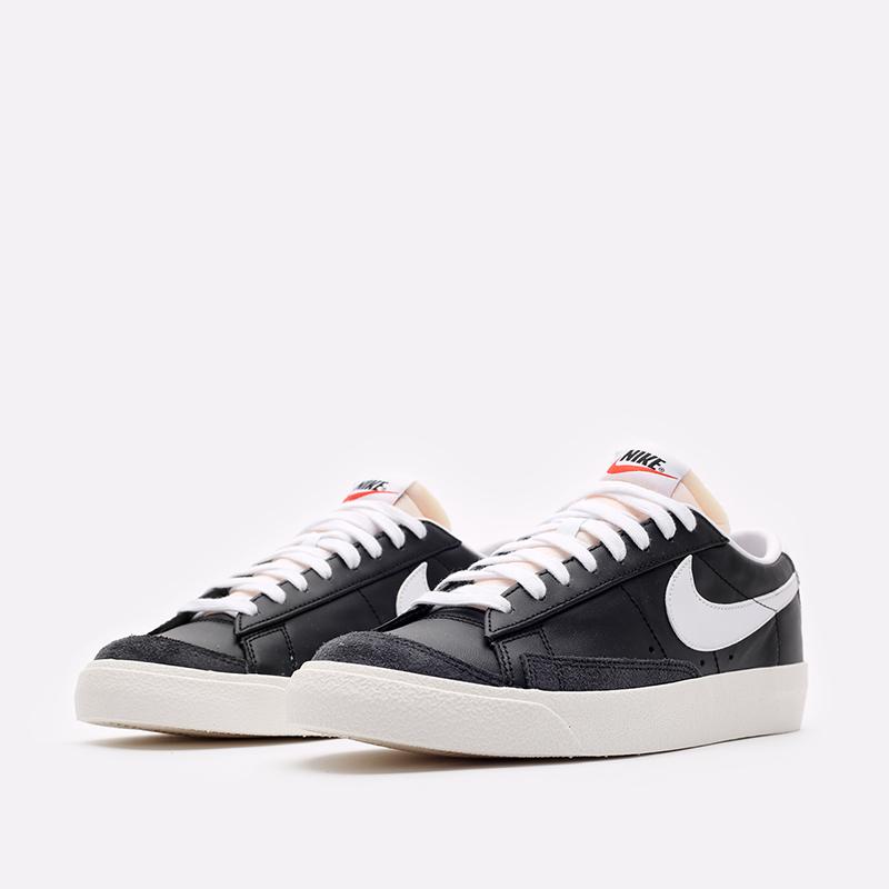 мужские черные кроссовки Nike Blazer Low '77 VNTG DA6364-001 - цена, описание, фото 4