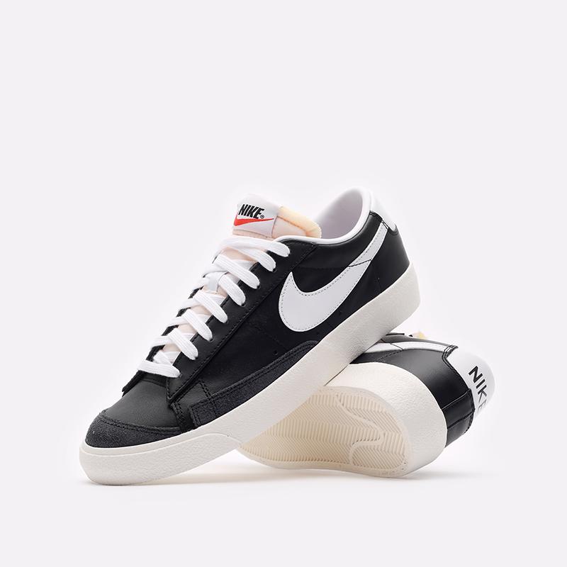 мужские черные кроссовки Nike Blazer Low '77 VNTG DA6364-001 - цена, описание, фото 2