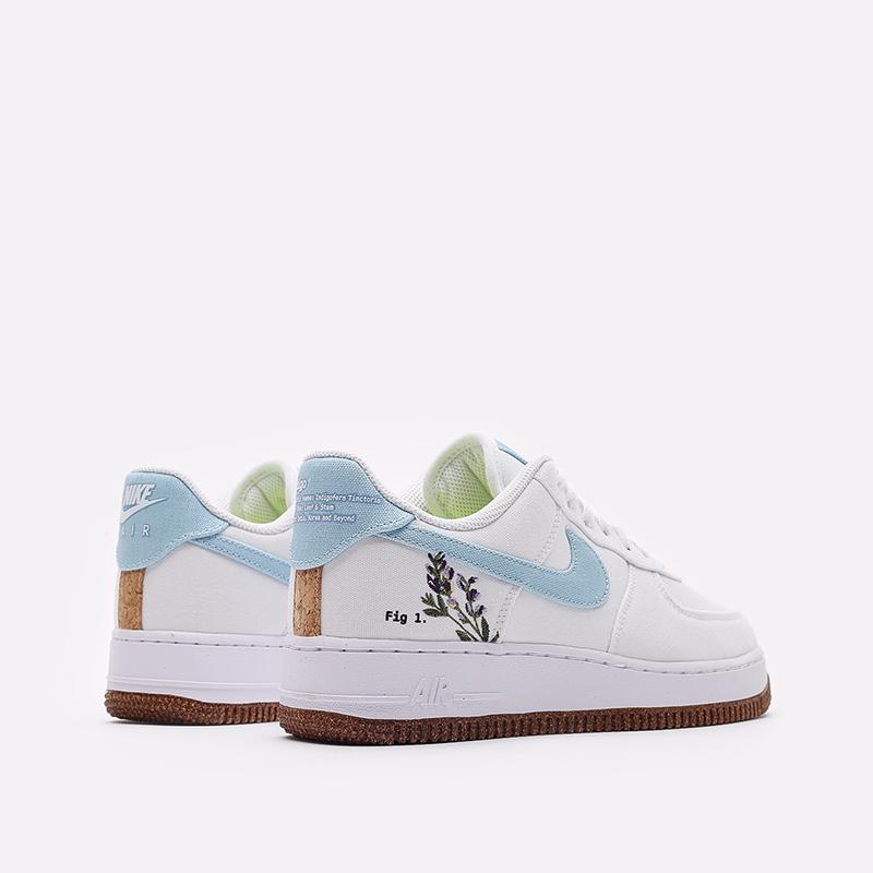 женские белые кроссовки Nike WMNS Air Force 1 '07 SE CZ0269-100 - цена, описание, фото 3
