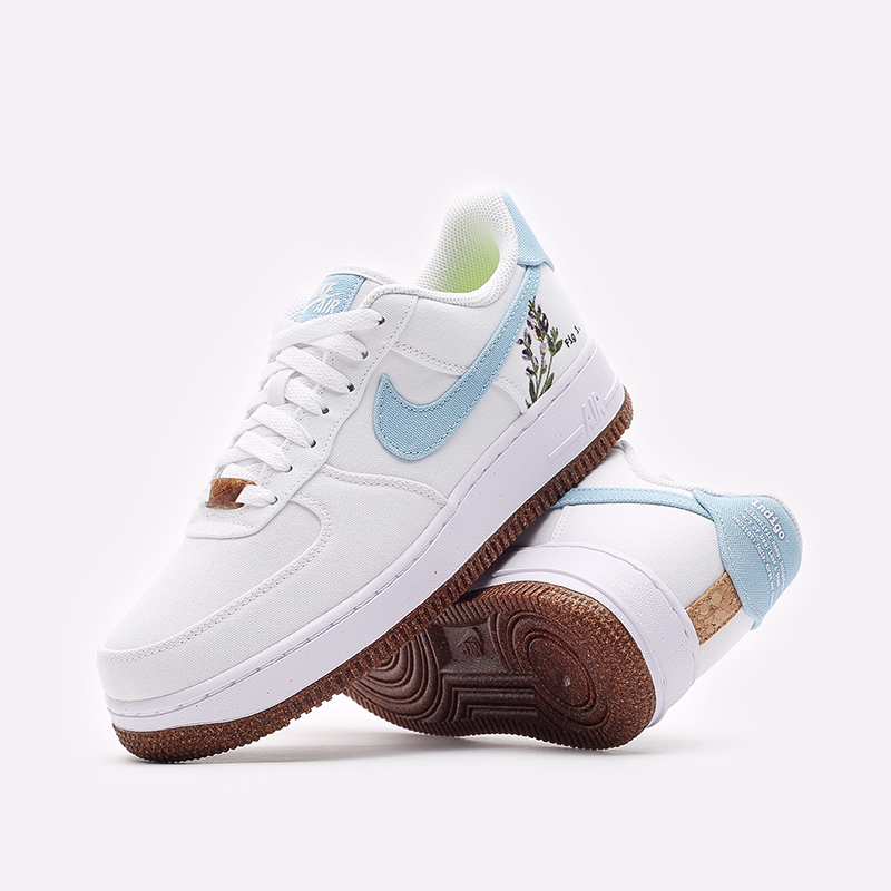 женские белые кроссовки Nike WMNS Air Force 1 '07 SE CZ0269-100 - цена, описание, фото 2