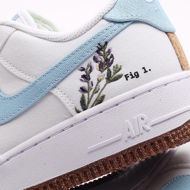 женские белые кроссовки Nike WMNS Air Force 1 '07 SE CZ0269-100 - цена, описание, фото 7