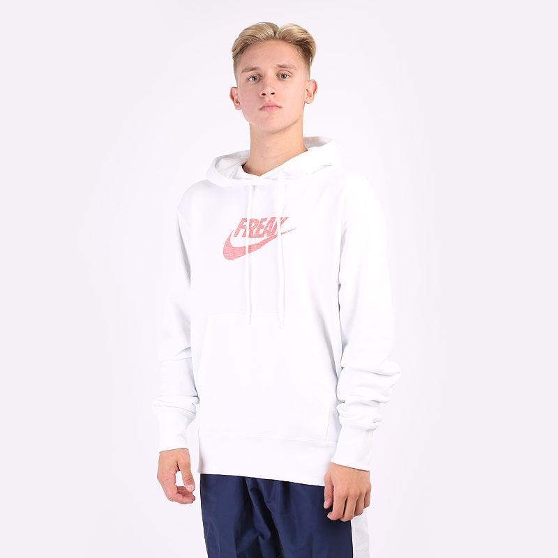 мужская белая толстовка Nike Giannis `Freak` Pullover Hoodie DA5691-121 - цена, описание, фото 1