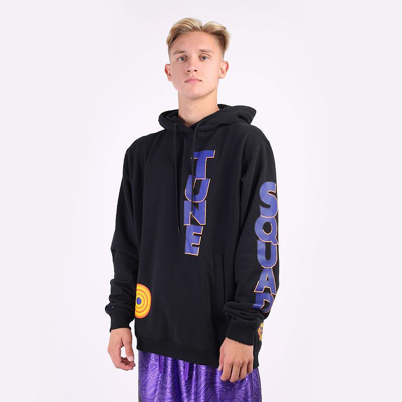 мужская черная толстовка Nike LeBron x Space Jam: A New Legacy `Tune Squad` DJ3900-010 - цена, описание, фото 1