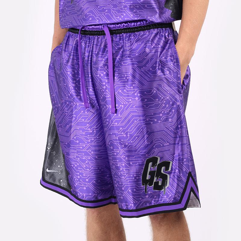 мужские фиолетовые  шорты  nike lebron x space jam: a new legacy `goon squad` shorts DJ3875-560 - цена, описание, фото 1