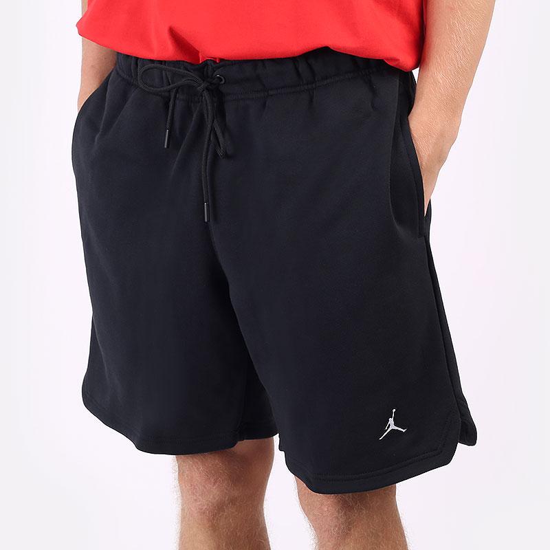 мужские черные  шорты  jordan essentials fleece shorts DA9826-010 - цена, описание, фото 1