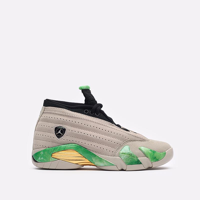 женские бежевые кроссовки Jordan WMNS 14 Retro Low SP DJ1034-200 - цена, описание, фото 1