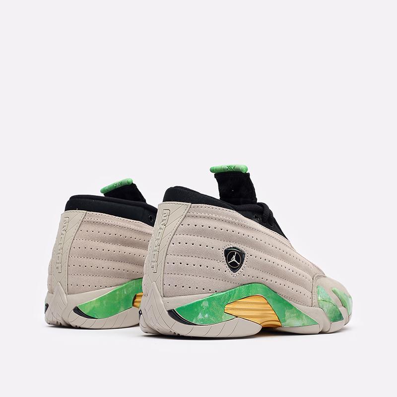 женские бежевые кроссовки Jordan WMNS 14 Retro Low SP DJ1034-200 - цена, описание, фото 3