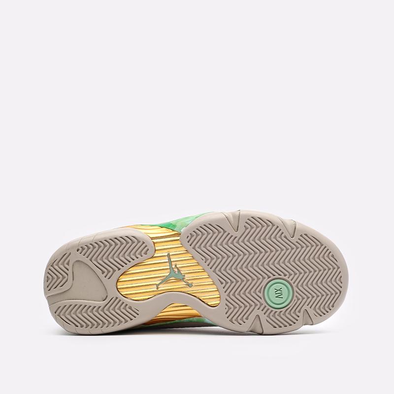 женские бежевые кроссовки Jordan WMNS 14 Retro Low SP DJ1034-200 - цена, описание, фото 5